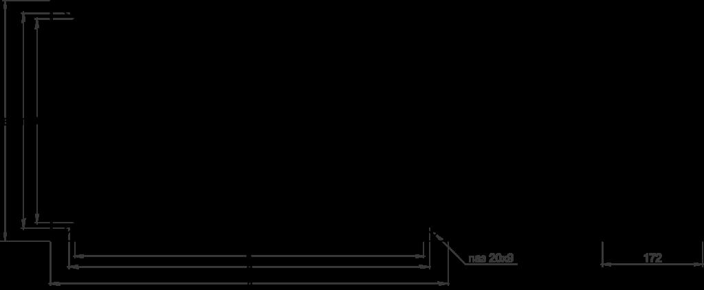 Заслонка утепленная DPU чертеж