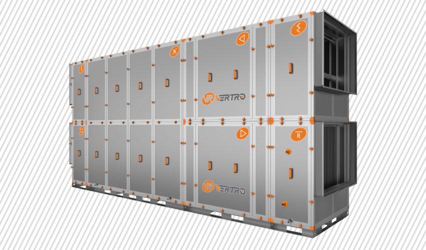 Новые приточно-вытяжные установки AVL, AVLD